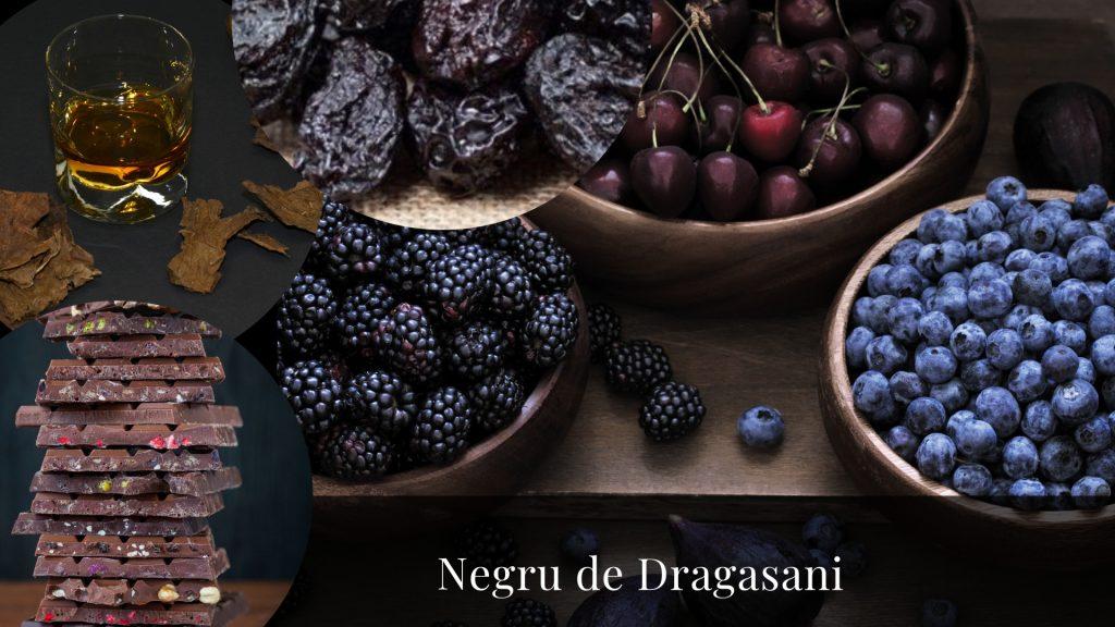 negru de dragasani romanian grape