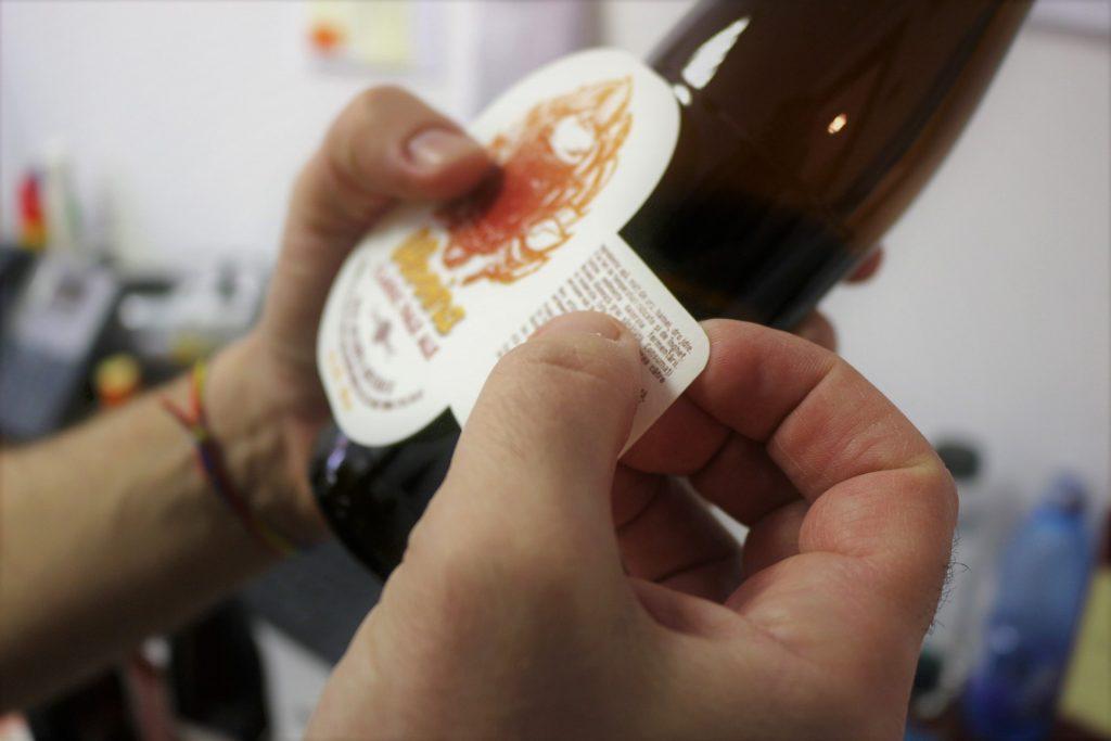 Amon Ra label Romanian craft beer