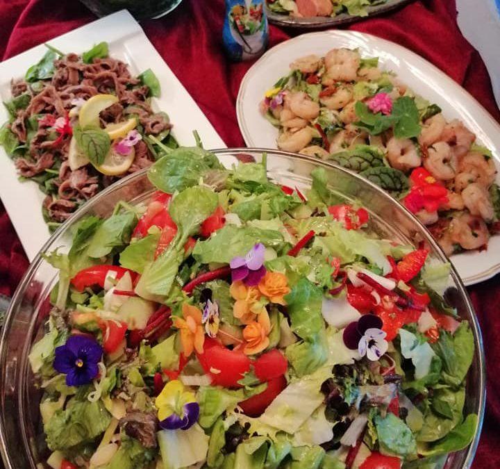 Ce vinuri bem la salate? Partea I-  Verdețuri, brânză și fructe de mare